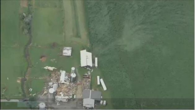 Photo taken from video from NBC 4 news