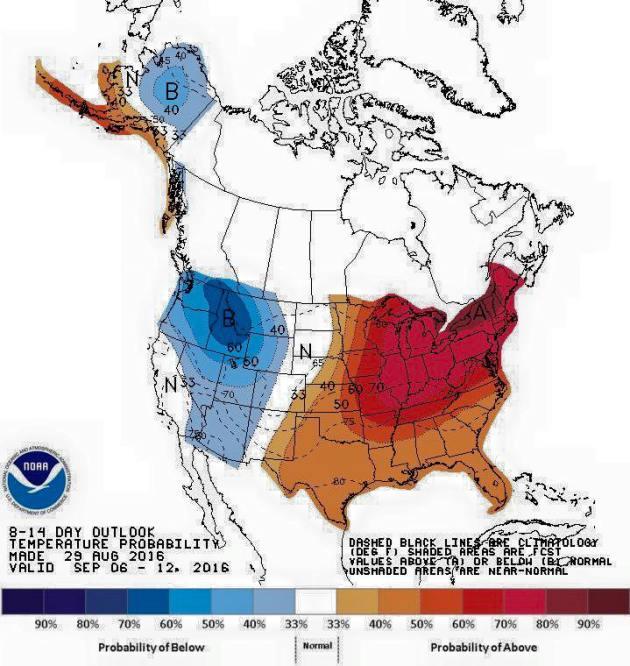 8-14 Temperature Outlook