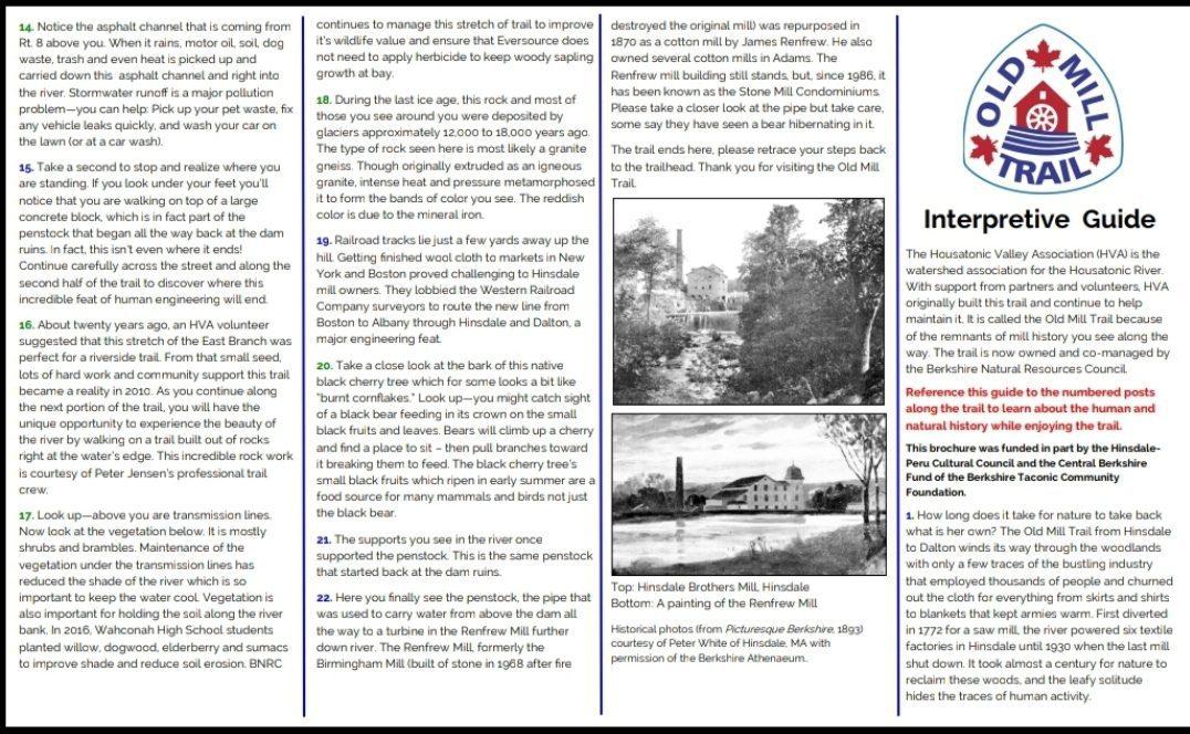 Hinsdale Old Mill Interpretive 2