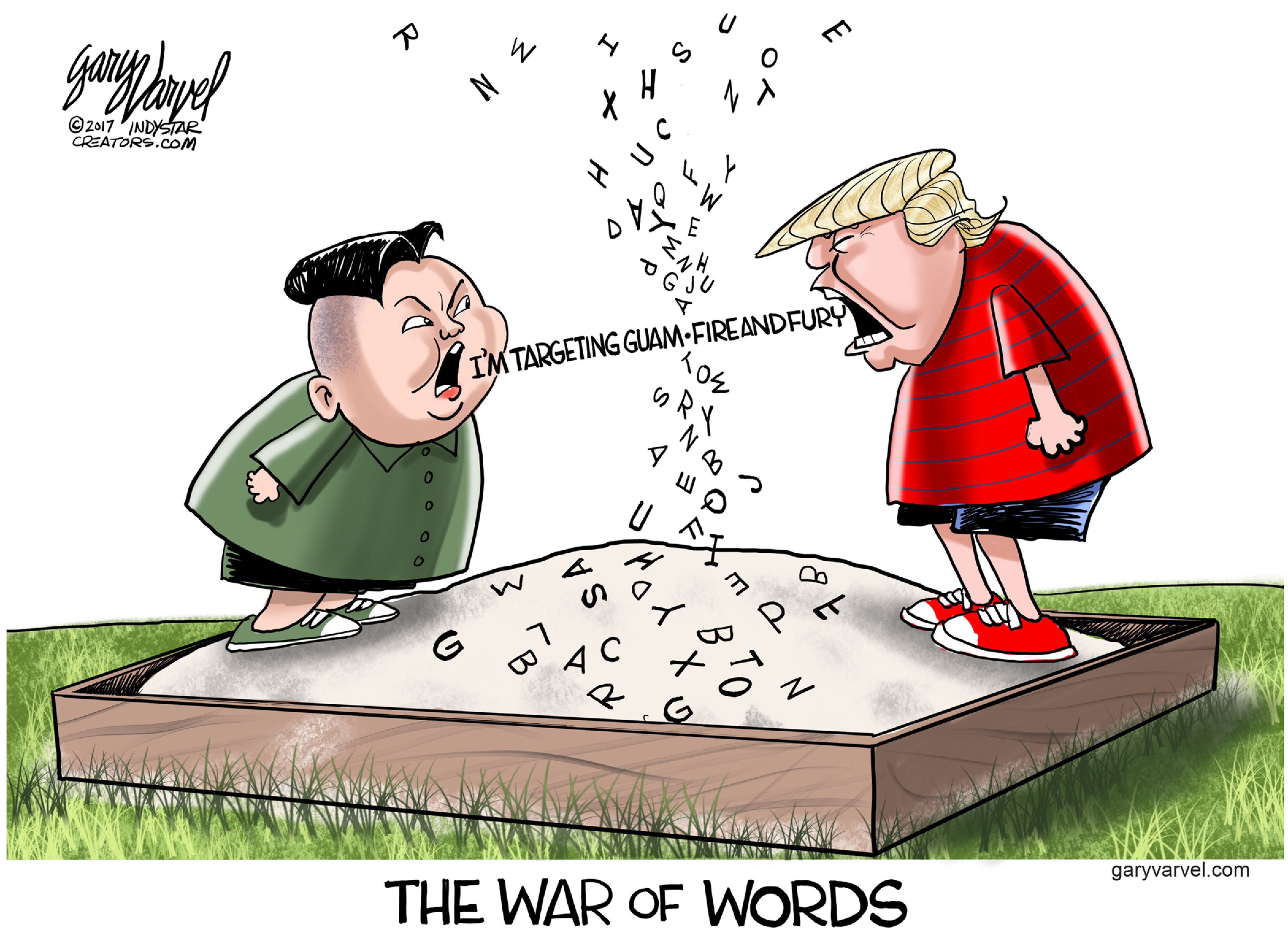 Editorial Cartoon 2 Aug 14