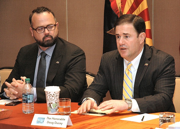 Governor raises concern about a water bill | The Verde ...