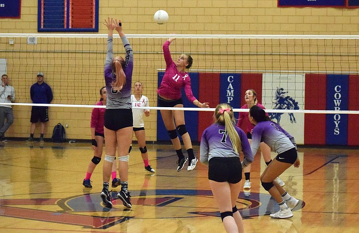 Camp Verde volleyball comes close to upset of rival Sedona ...