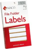 TAN FILE FOLDER LABEL PK/248
