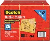 BUBBLE MAILER 6 X 9  BOX-25