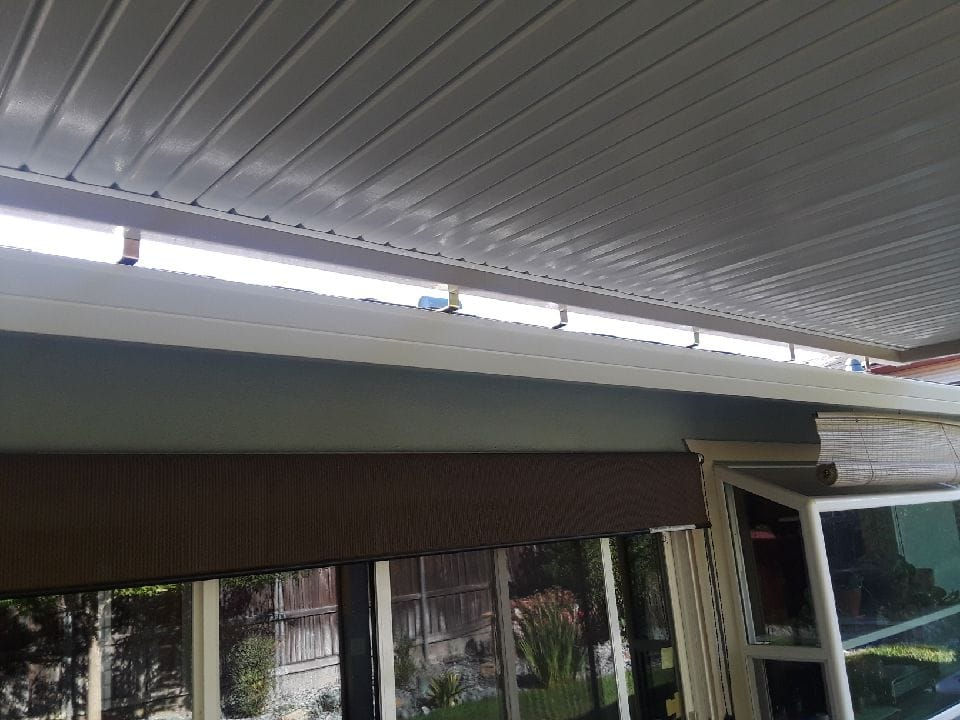 solid aluminum patio covers gallery