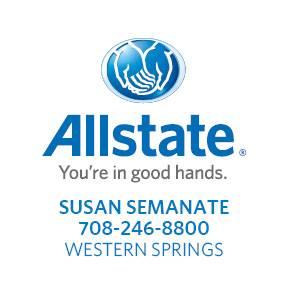 Allstate Logo, Susan Semante western springs