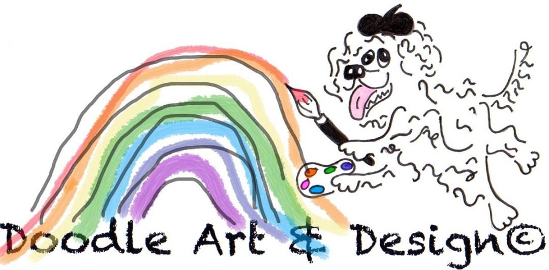 Doodle Art & Design Logo