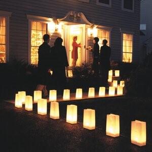 candlelit Luminaria