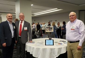 David Kack, Lonnie Hunt, and Bob Bashaw at the 2019 National Regional Transportation Conference
