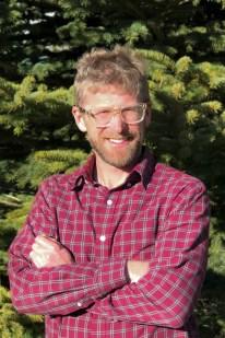outdoor portrait of Matt Madsen