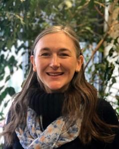 headshot portrait of Andrea Hamre in 2020