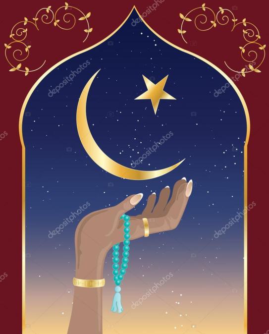 De maansikkel stond symbool voor de maangod. Nu het symbool van de islam