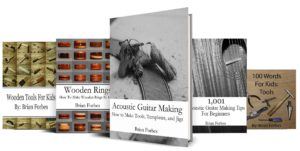woodworking and guitar making books