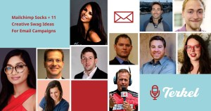Mailchimp Socks and 11 Creative Swag Ideas