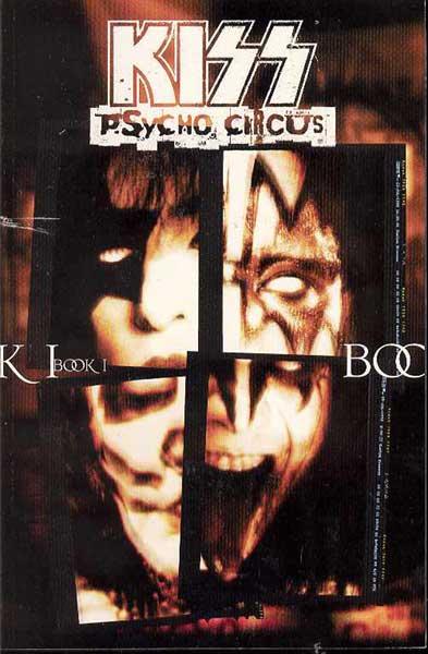 Kiss Psycho Circus Book 1 Comic Book Review