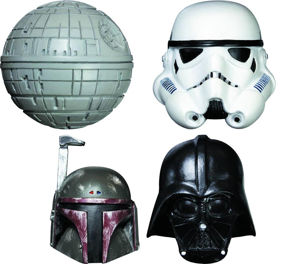Star Wars Figural Fridge Magnet Set