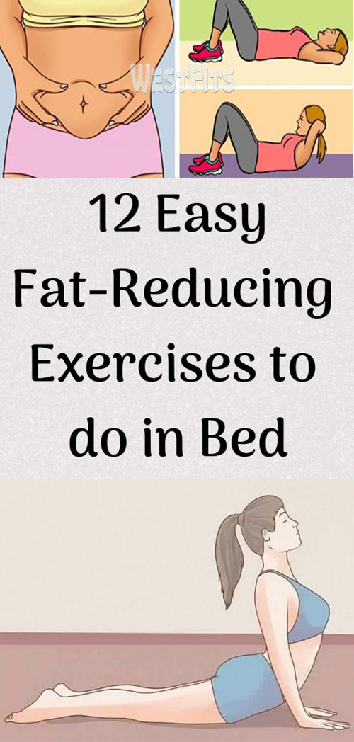 12 easy fat-reducing exercises to do in bed