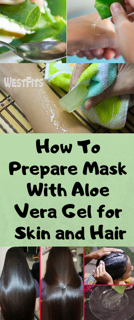How To Prepare Mask With Aloe Vera Gel for Skin and Hair