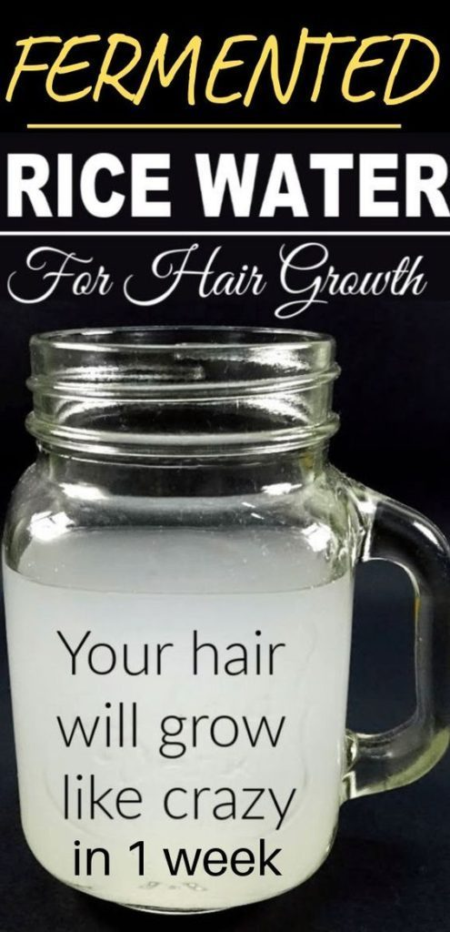 Powerful Rice Water Recipes For Healthy Natural Hair Growth
