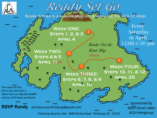 Ready Set Go - April 2015