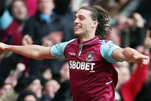 Andy Carroll scores awards double