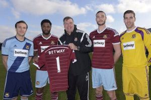 West Ham announce new Betway sponsorship
