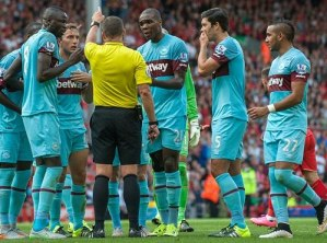 Mark Noble red card vs Liverpool rescinded | Noble can play against Newcastle