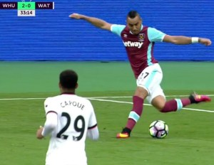 First PL goal in 182 days for Dimi- Video Payet goal vs Middlesbrough 2016