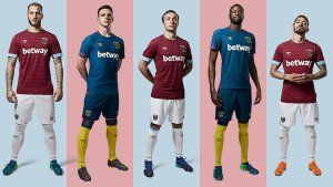 Umbro & West Ham unveil 2018-19 season shirts