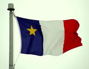 Flag of Acadia.