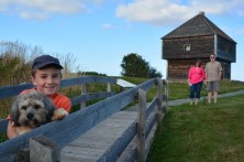 Visiting Fort Edward