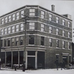 Graham's Grocery on corner of Water St. and Stannus St., c. 1865-1981