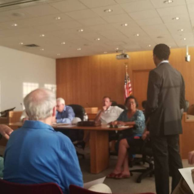 Shawn Wooden visits the WHDTC - endorsed candidate for State Treasurer of Connecticut