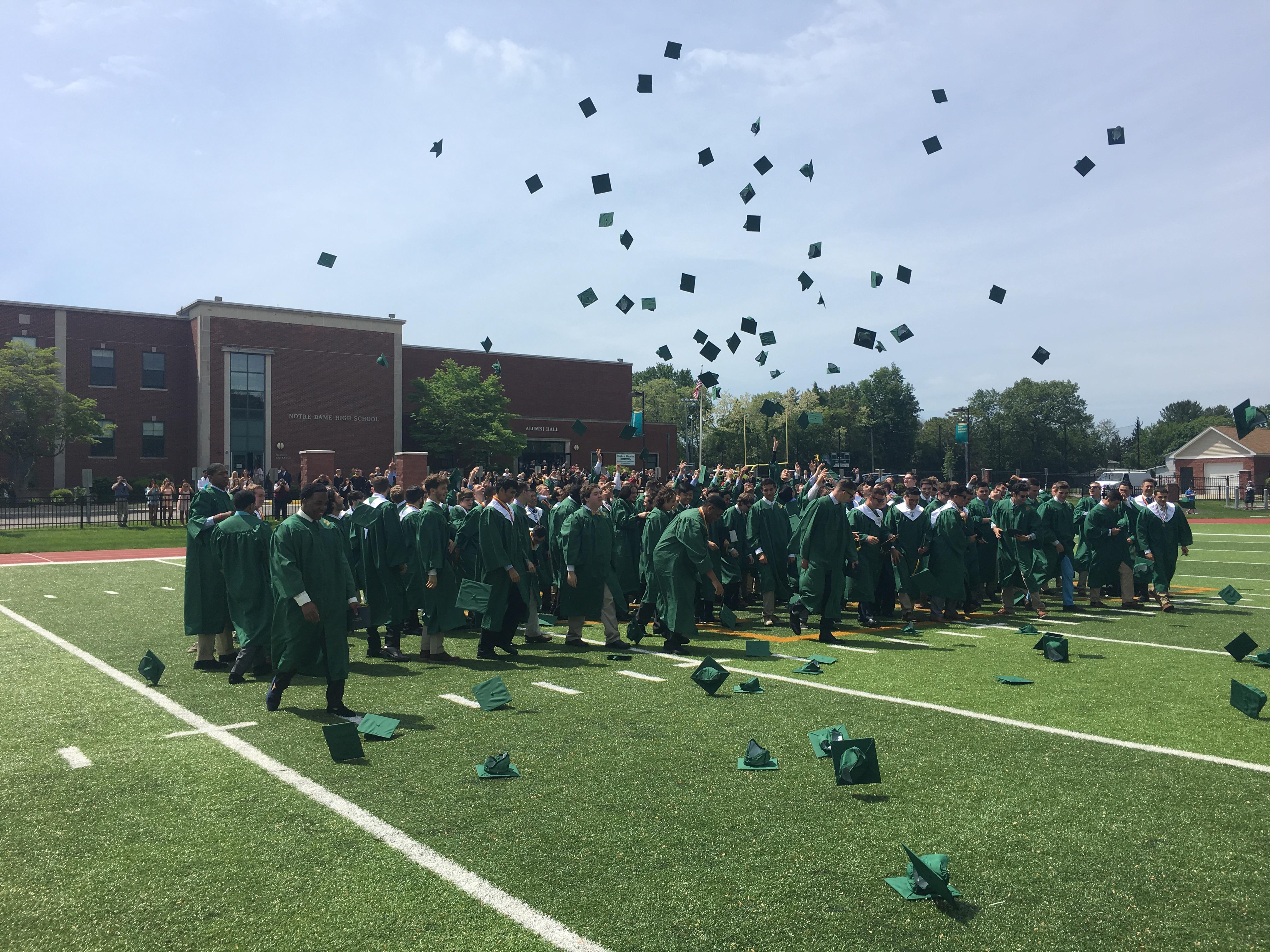 Notre Dame graduates 141 in 2017