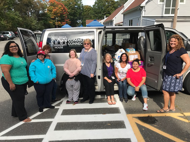 WHCH staff,clients aid storm victims