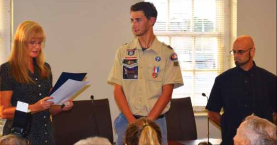 Heroes honored by city