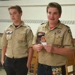 Scout project cleans sanctuary