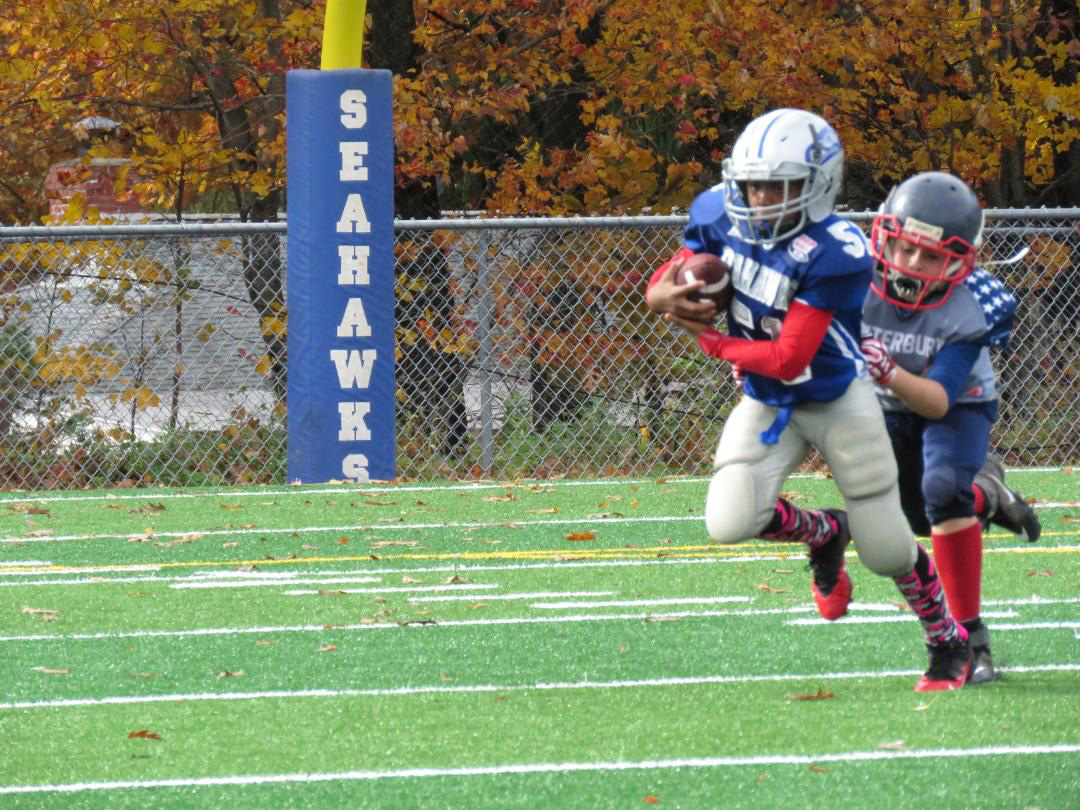 Seahawks falter in Pop Warner finals