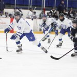 Squirts top Northwestern, lose to Patriots