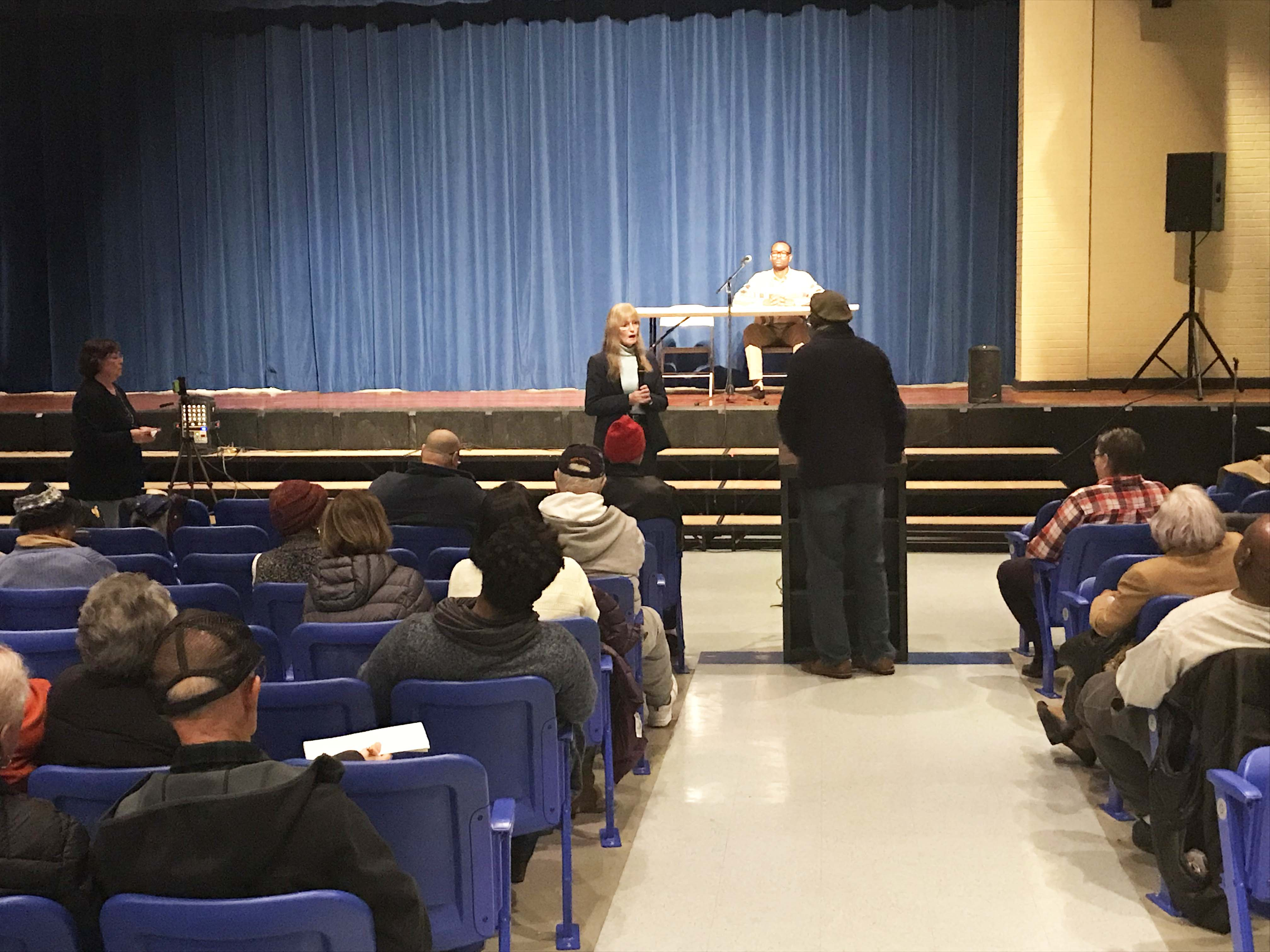 Taxes main concern of Allingtown session