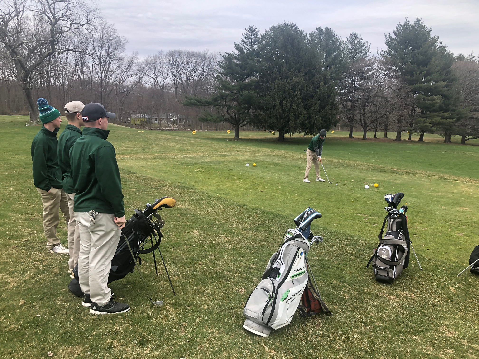 Rosati sets golf mark