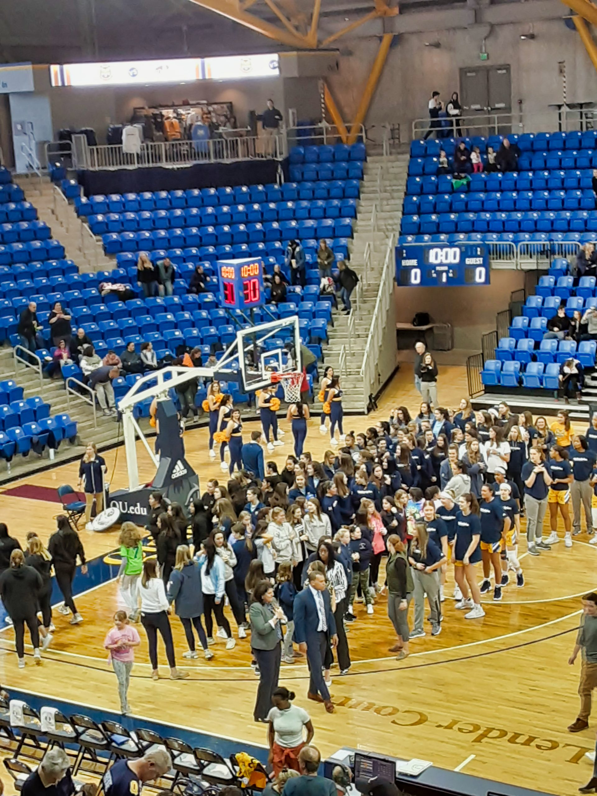 Lady hoopsters recognized by Quinnipiac