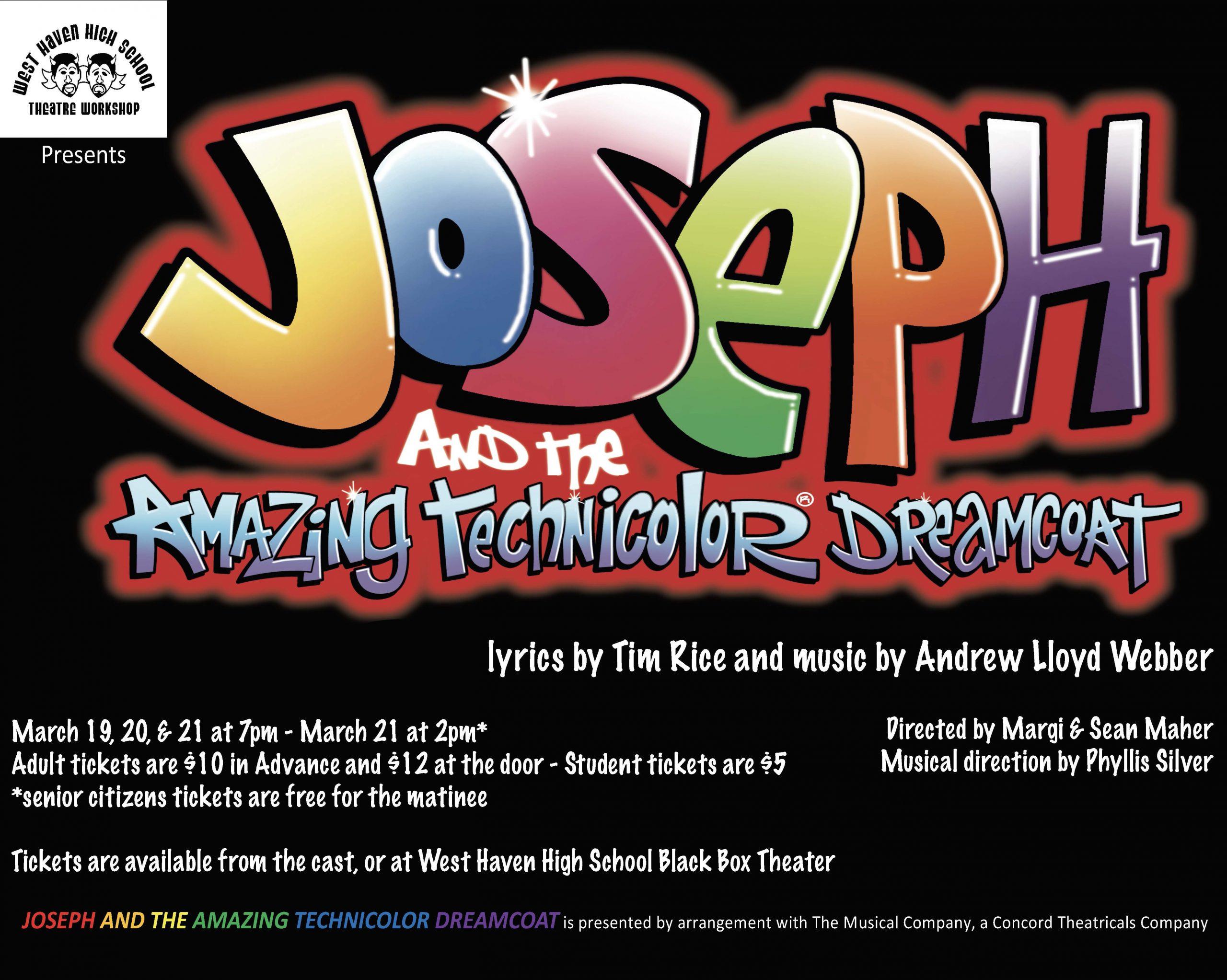 WHHS troupe preps 'Joseph'