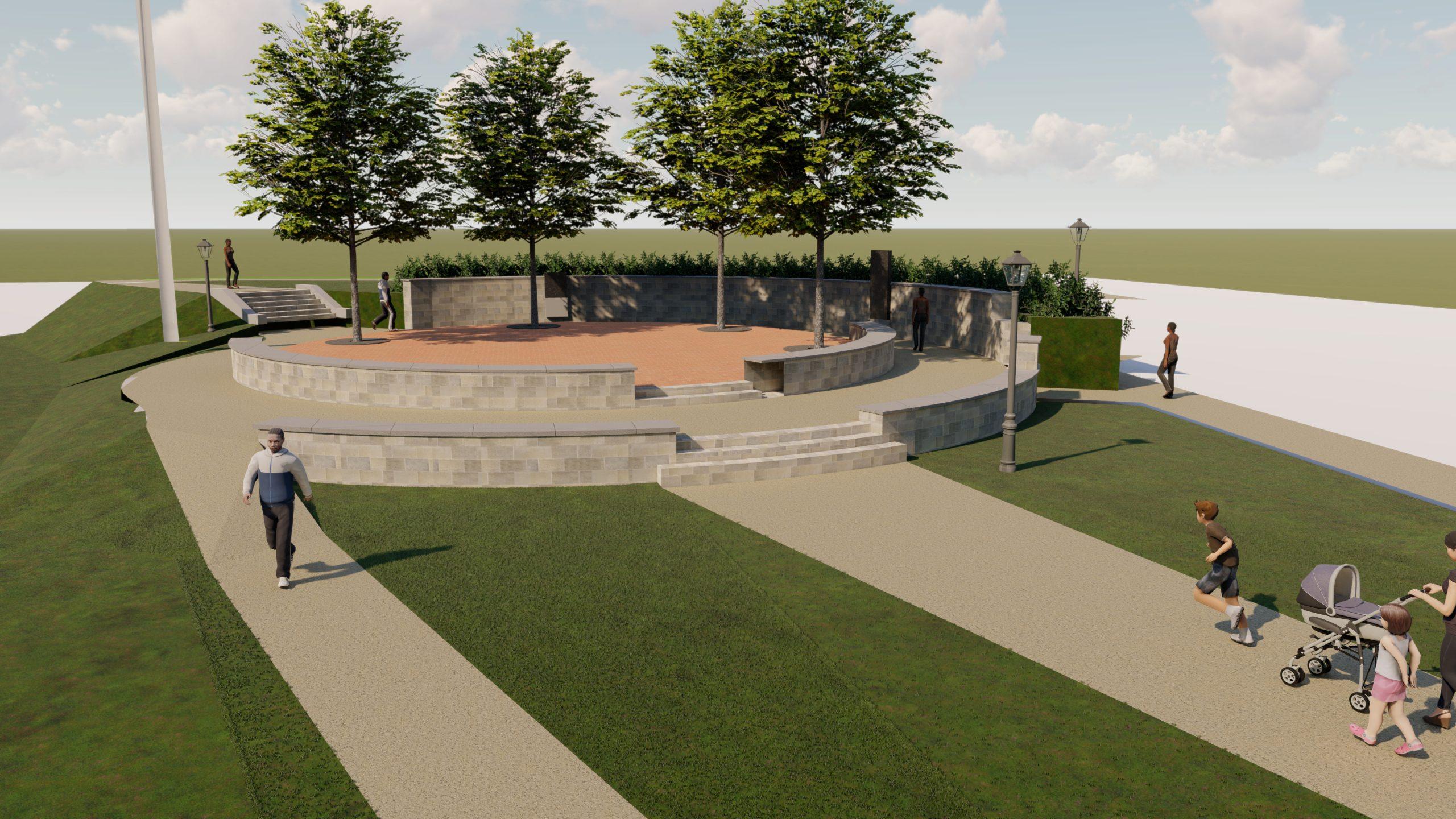 Allingtown Green plan updated
