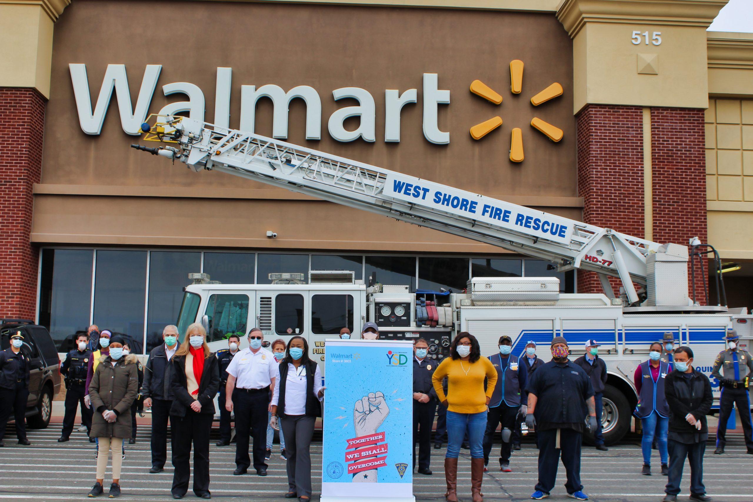 Walmart gives supplies