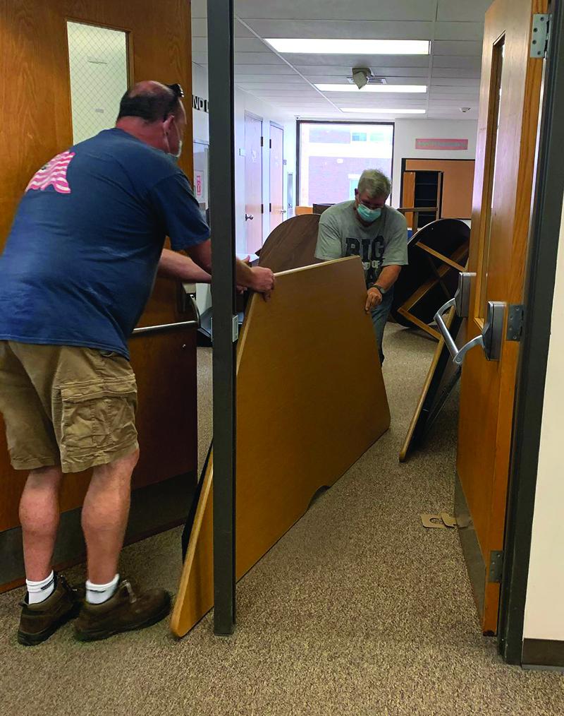 Piantino Library vacates Center