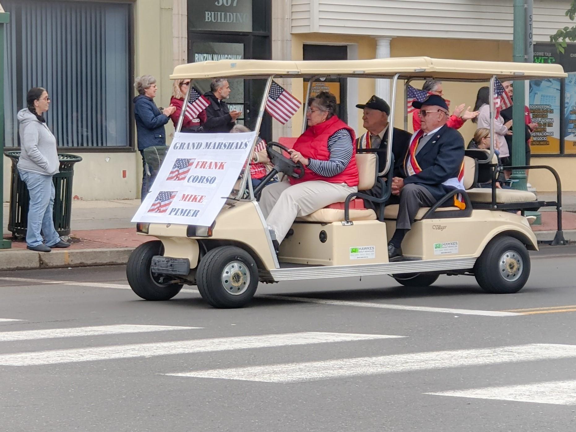 Parade celebrates the nation