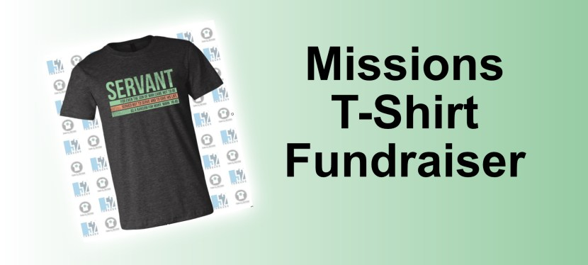 Missions T-Shirt Fundraiser