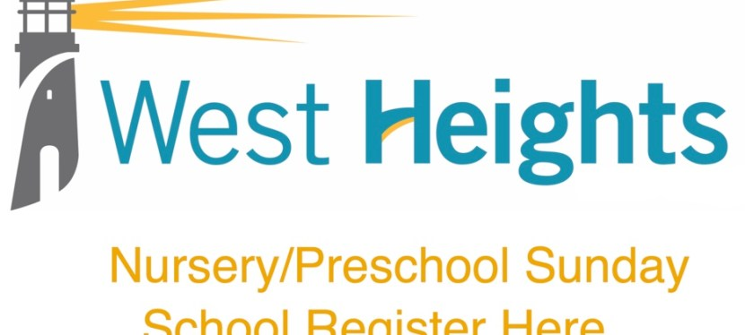 Nursery/Preschool Sunday school Registration