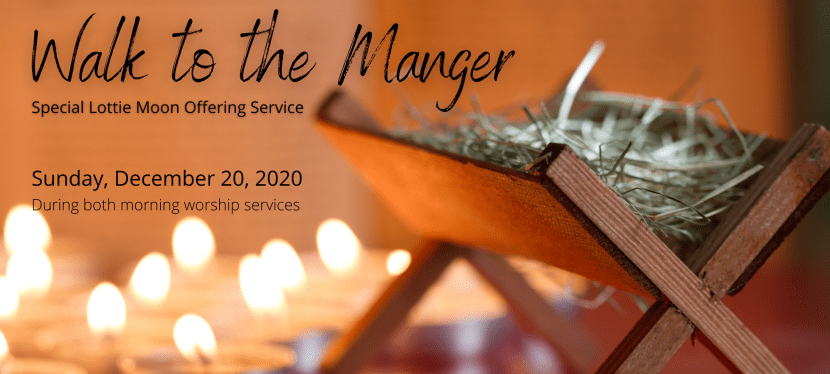 Walk to the Manger